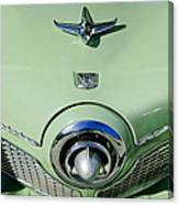 1951 Studebaker Commander Hood Ornament 2 Canvas Print
