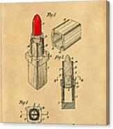 1952 Chanel Lipstick Case 4 Canvas Print