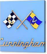 1952 Cunningham C-3 Vignale Cabriolet Emblem Canvas Print