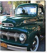 1952  Ford Pick Up Truck Front And Side View Canvas Print