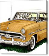 1952 Ford Victoria Canvas Print