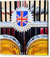 1952 Mg Replica Grille Emblem Canvas Print