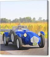 1953 Allard J2x Roadster Canvas Print