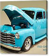 1953 Gmc Pickup Truck Canvas Print