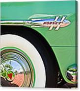 1953 Hudson Hornet Sedan Wheel Emblem Canvas Print