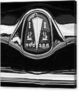 1953 Hudson Twin Hornet Grille Emblem Canvas Print