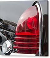 1953 Lincoln Capri Tail Light Canvas Print