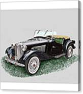 Mg T D 1953 Canvas Print