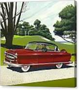 1953 Nash Rambler - Square Format Image Picture Canvas Print