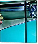 1953 Packard Caribbean Convertible Emblem 4 Canvas Print