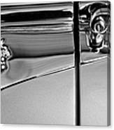1953 Packard Caribbean Convertible Emblemblem Canvas Print