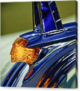 1953 Pontiac Hood Ornament 3 Canvas Print