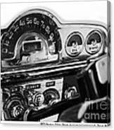 1953 Pontiac Silver Streak Canvas Print