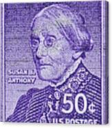 1954-1961 Susan B. Anthony Stamp Canvas Print