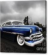 1954 Blue Buick Canvas Print