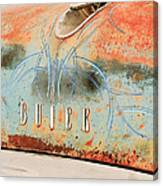 1954 Buick Special Hood Ornament Canvas Print