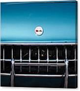 1954 Chevrolet Corvette Grille Emblem -249c Canvas Print