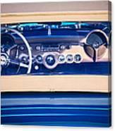 1954 Chevrolet Corvette Steering Wheel -139c Canvas Print
