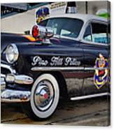 1954 Chevy Dare Police Car Pine Hill Nj Greeting Card