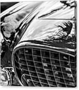 1954 Ferrari Europa 250 Gt Grille -1336bw Canvas Print