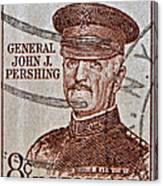 1954 General John J. Pershing Stamp Canvas Print