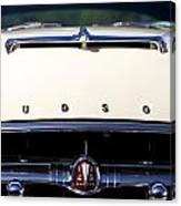 1954 Hudson Hornet Grill Canvas Print