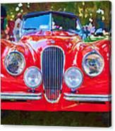 1954 Jaguar Xk 120 Se Ots Canvas Print