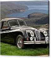 1954 Jaguar Xk140  Canvas Print