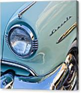 1954 Lincoln Capri Headlight Canvas Print