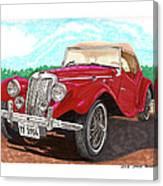 1954 M G T F  Canvas Print