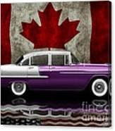 1955 Bel Air Patriot Canvas Print