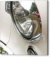 1955 Buick Special Headlight Canvas Print