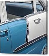 1955 Chevrolet 4 Door Canvas Print