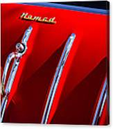 1955 Chevrolet Belair Nomad Hood Ornament -559c Canvas Print
