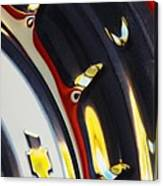 1955 Chevrolet Belair Nomad Wheel Canvas Print