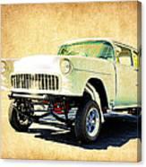 1955 Chevrolet Gasser Canvas Print