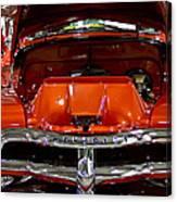 1955 Chevrolet Truck-american Classics-front View Canvas Print