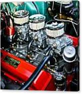 1955 Chevy 327 Canvas Print