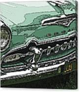 1955 Desoto Grille Canvas Print