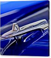 1955 Desoto Hood Ornament 3 Canvas Print