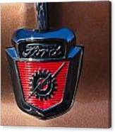 1955 Ford Emblem Canvas Print