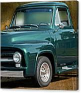 1955 Ford Truck Canvas Print
