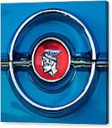 1955 Mercury Monterey  Emblem Canvas Print