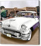 1955 Oldsmobile Super 88 Canvas Print