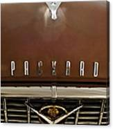 1955 Packard 400 Hood Ornament Canvas Print