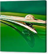 1955 Packard Clipper Hood Ornament 3 Canvas Print