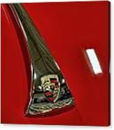 1955 Porsche 356c Hood Canvas Print