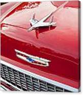 1955 Red Chevy Canvas Print
