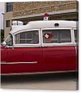 1955 Superior Cadillac Passenger Ambulance Canvas Print