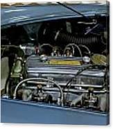 1956 Austin Healey Engine Canvas Print